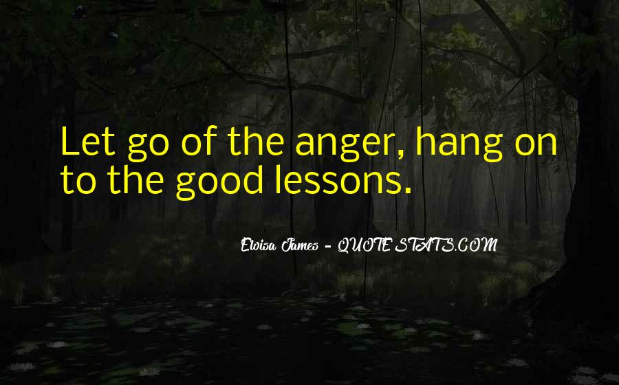 Sayings About Letting Anger Go #12131