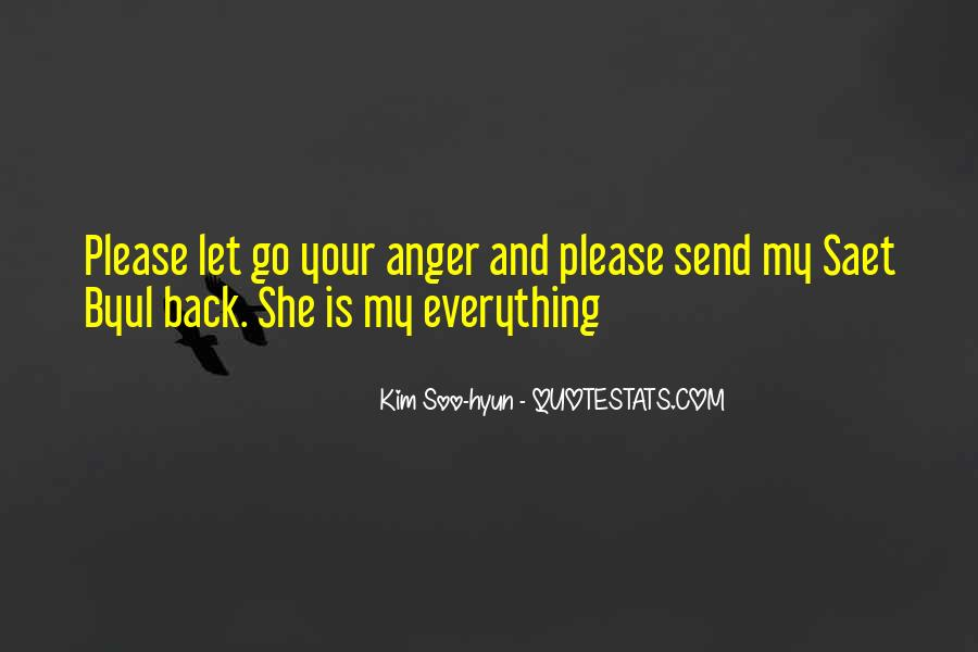 Sayings About Letting Anger Go #1228611