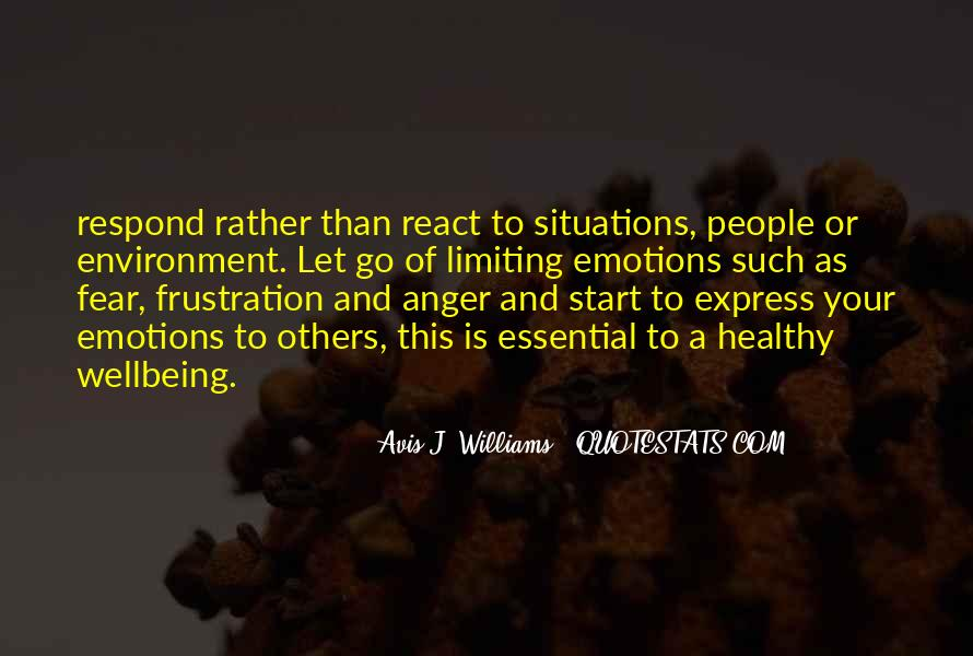 Sayings About Letting Anger Go #1727513