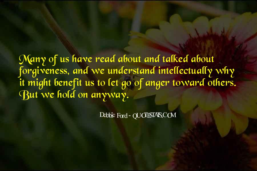 Sayings About Letting Anger Go #393537