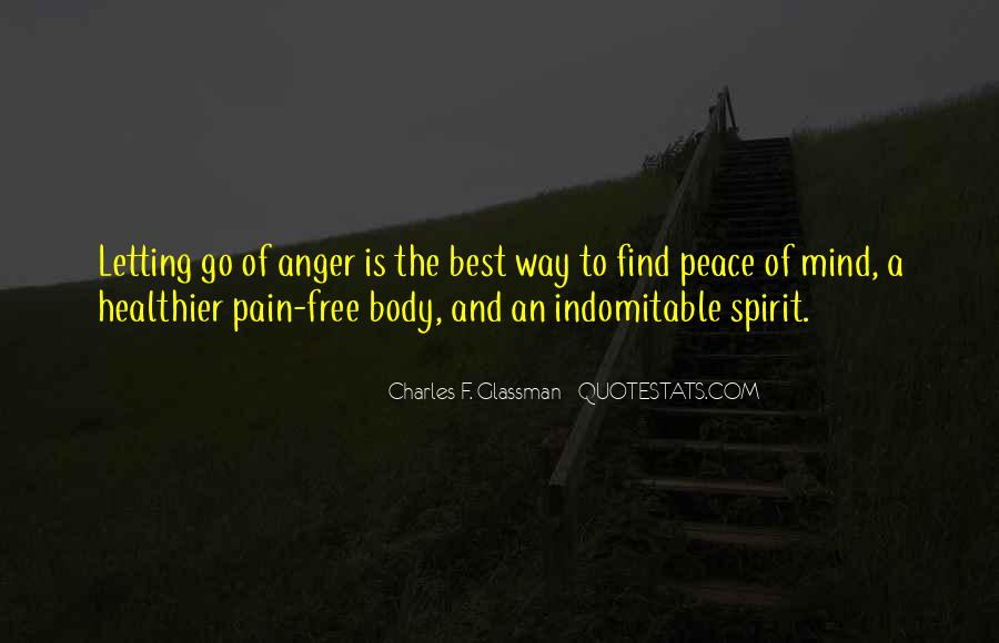 Sayings About Letting Anger Go #72167