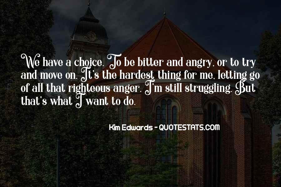 Sayings About Letting Anger Go #840480