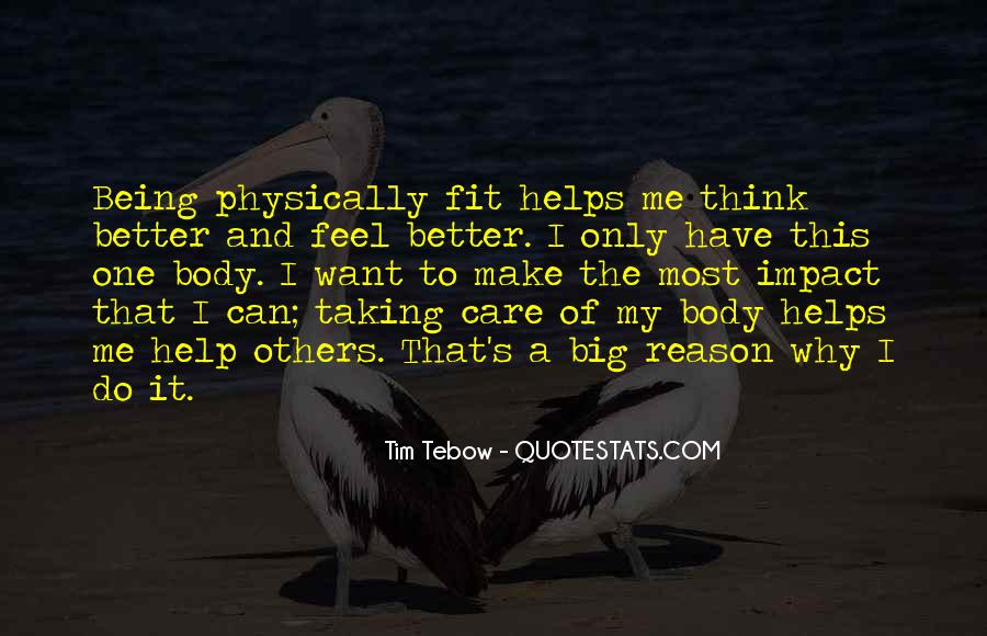 Sayings About Being Physically Fit #1673587