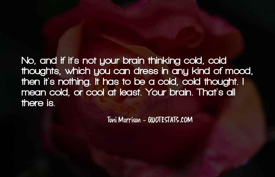 Sayings About Thoughts Thinking #118982