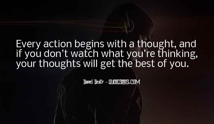 Sayings About Thoughts Thinking #145948