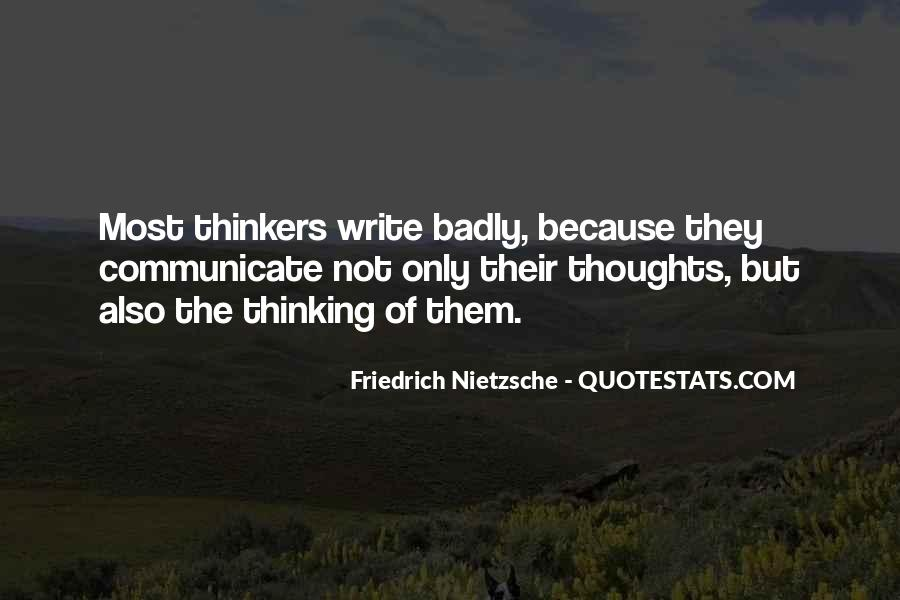 Sayings About Thoughts Thinking #146522