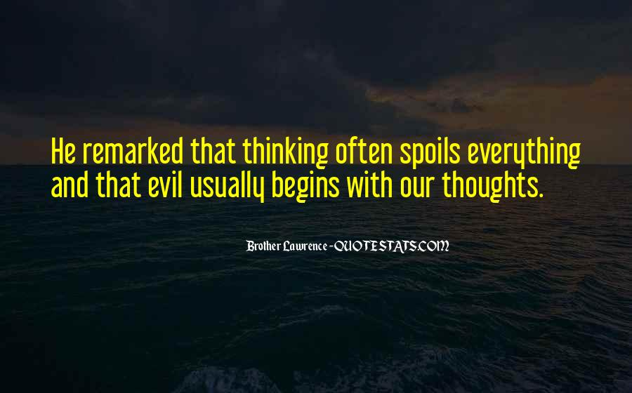 Sayings About Thoughts Thinking #148003