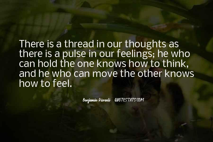 Sayings About Thoughts Thinking #149476
