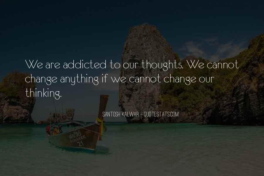 Sayings About Thoughts Thinking #169118