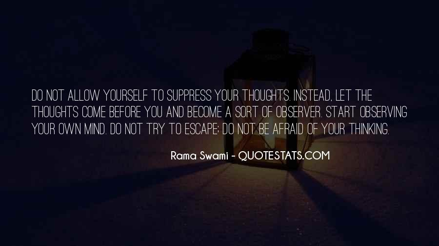 Sayings About Thoughts Thinking #185478