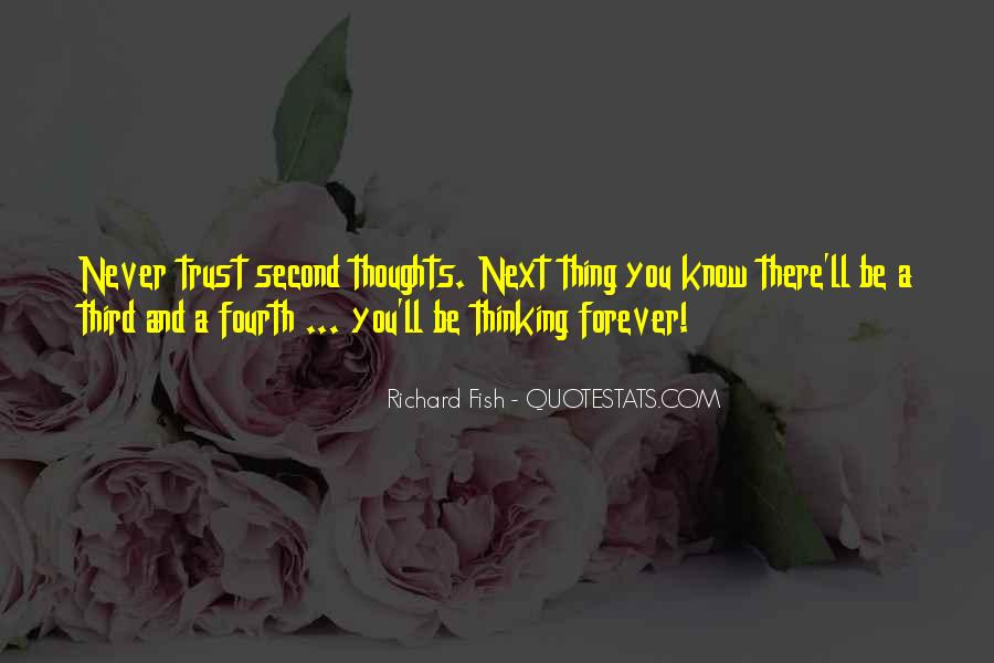 Sayings About Thoughts Thinking #228901
