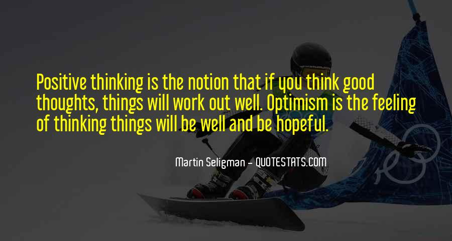 Sayings About Thoughts Thinking #231847