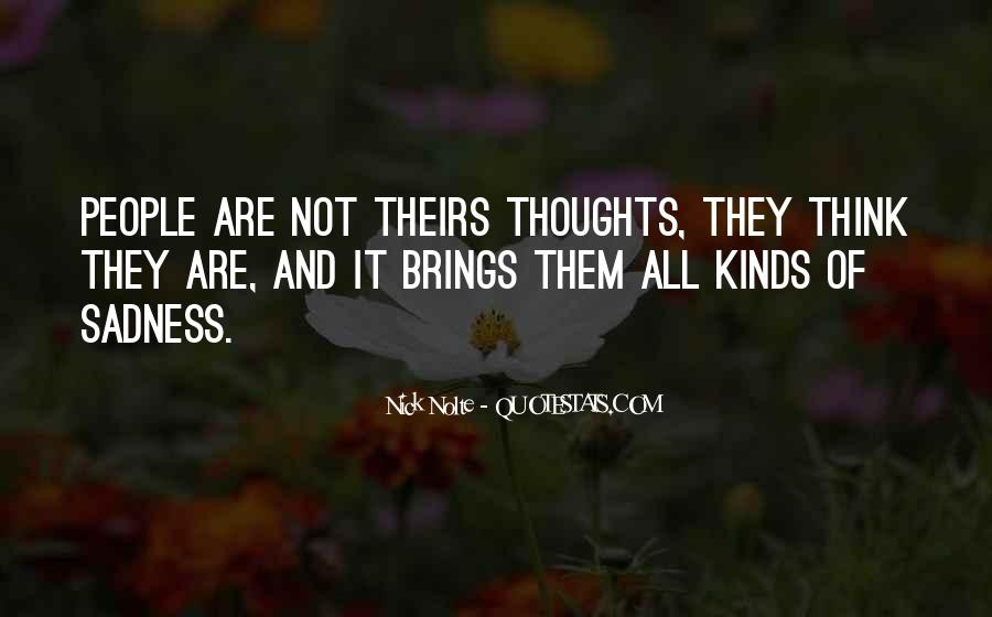 Sayings About Thoughts Thinking #23630