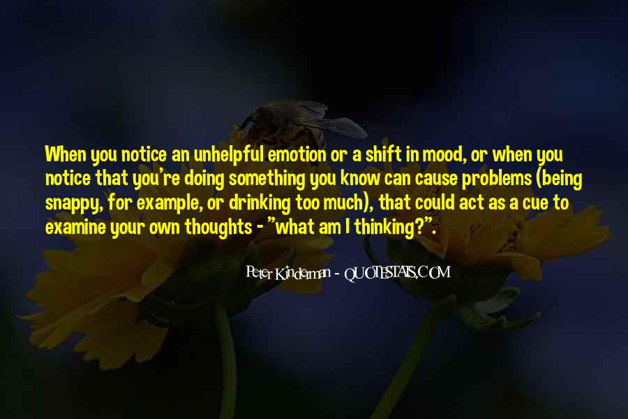 Sayings About Thoughts Thinking #34355