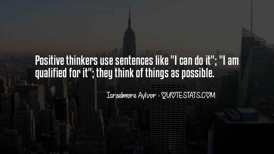 Sayings About Thoughts Thinking #49548