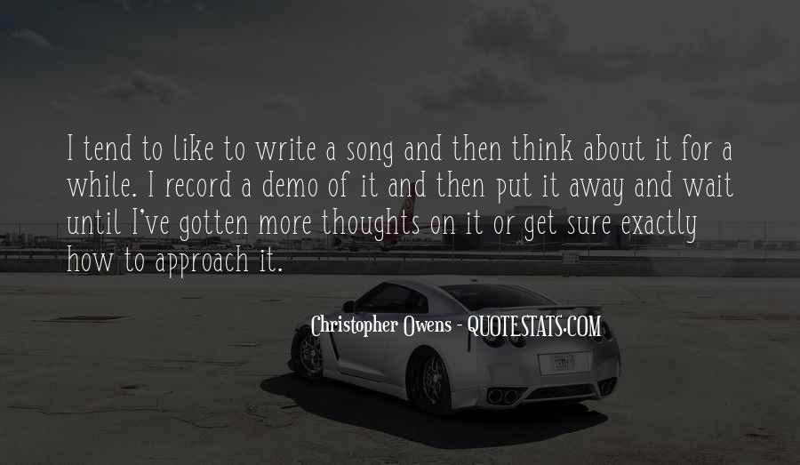 Sayings About Thoughts Thinking #5562