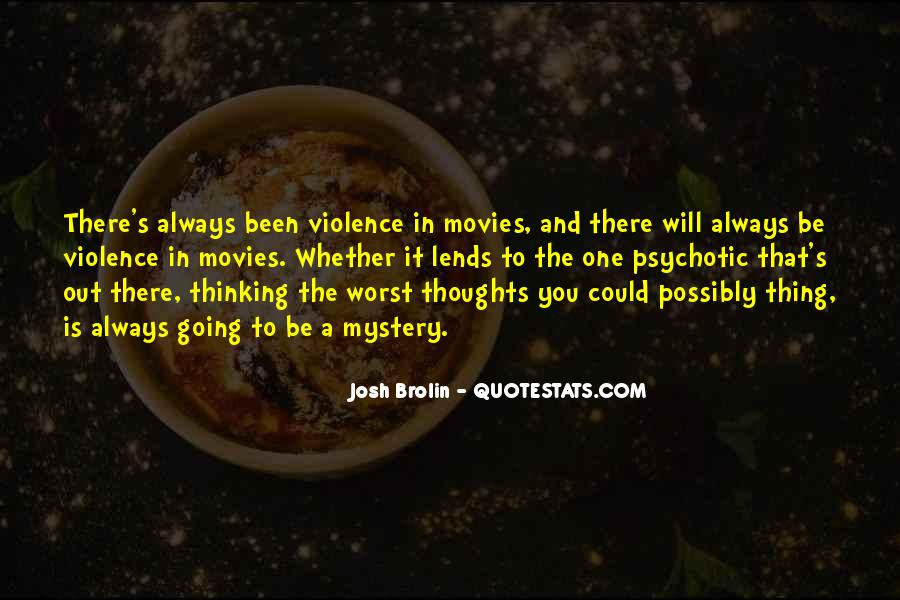 Sayings About Thoughts Thinking #61005