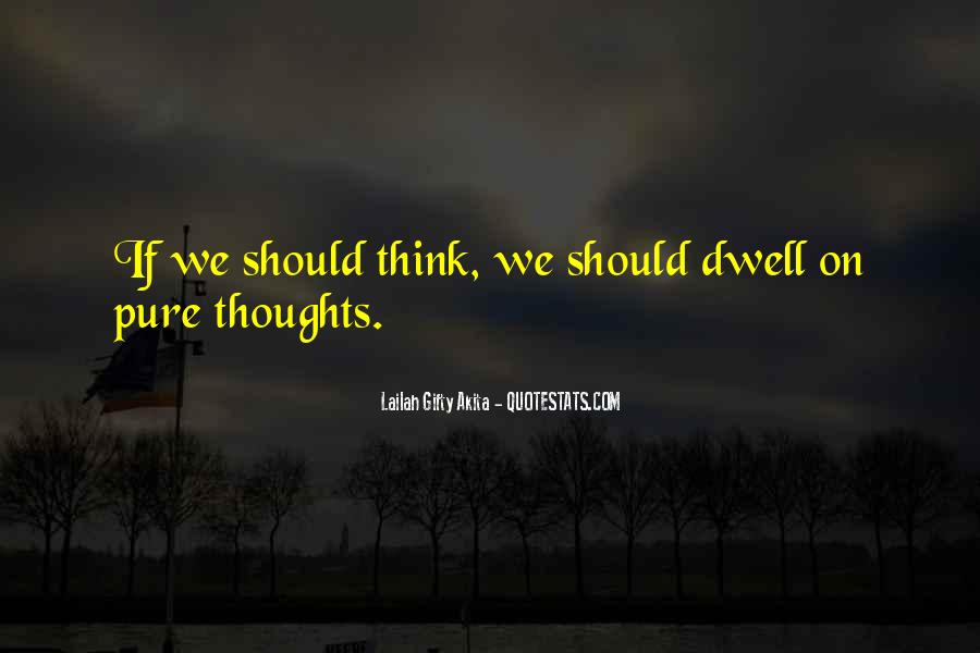 Sayings About Thoughts Thinking #74223