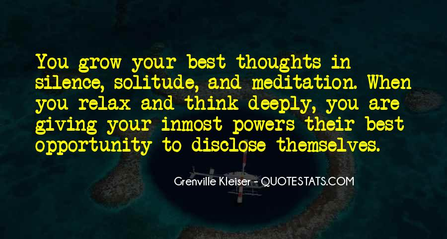 Sayings About Thoughts Thinking #79077