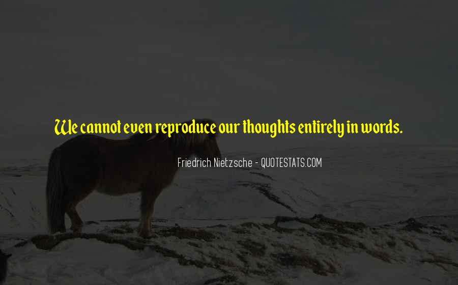 Sayings About Thoughts Thinking #81233