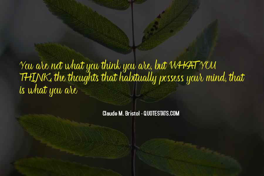 Sayings About Thoughts Thinking #93199
