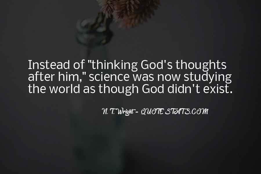 Sayings About Thoughts Thinking #97634