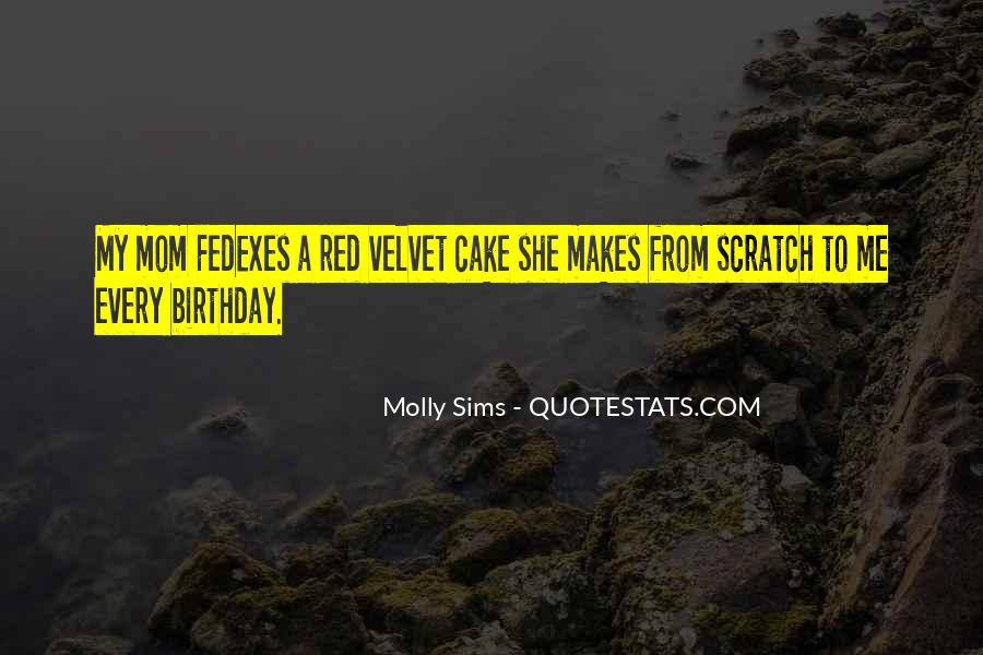 Sayings About A Birthday Cake #1840114