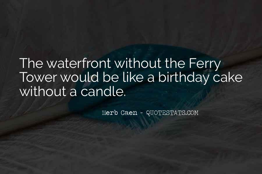 Sayings About A Birthday Cake #1861809