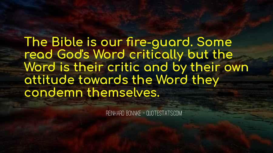Sayings About Attitude In Bible #1872825