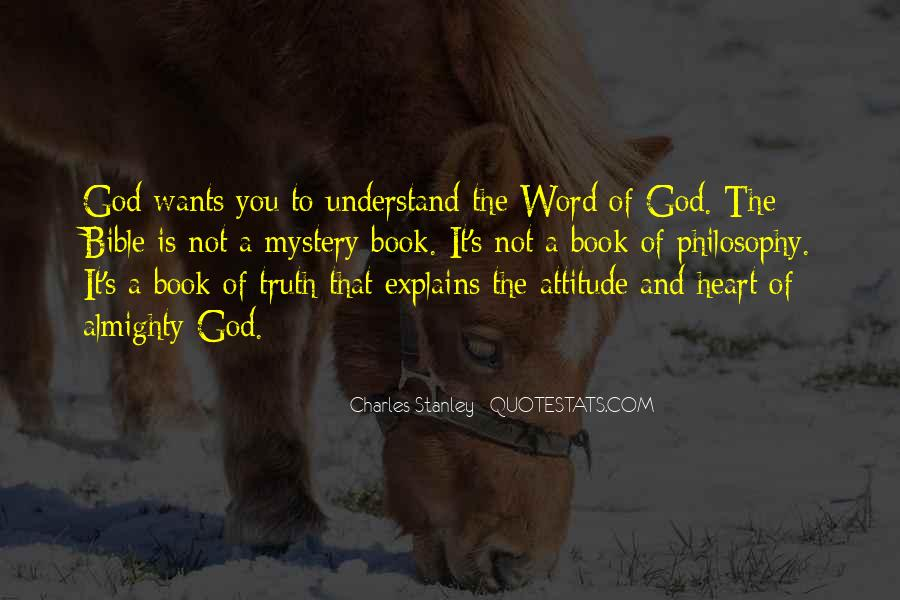 Sayings About Attitude In Bible #369397