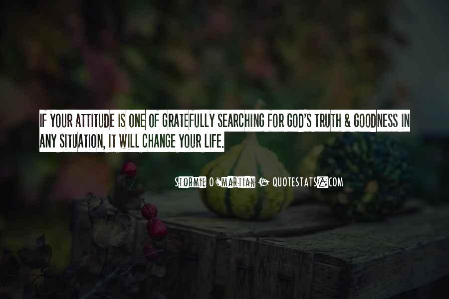Sayings About Attitude In Bible #562400