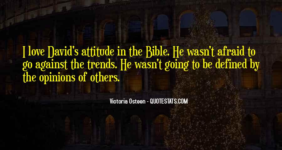 Sayings About Attitude In Bible #680367