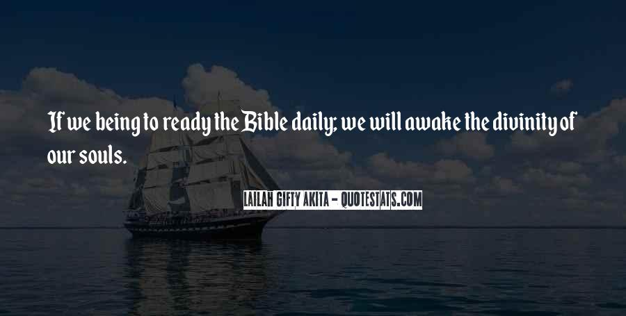 Sayings About Attitude In Bible #726598