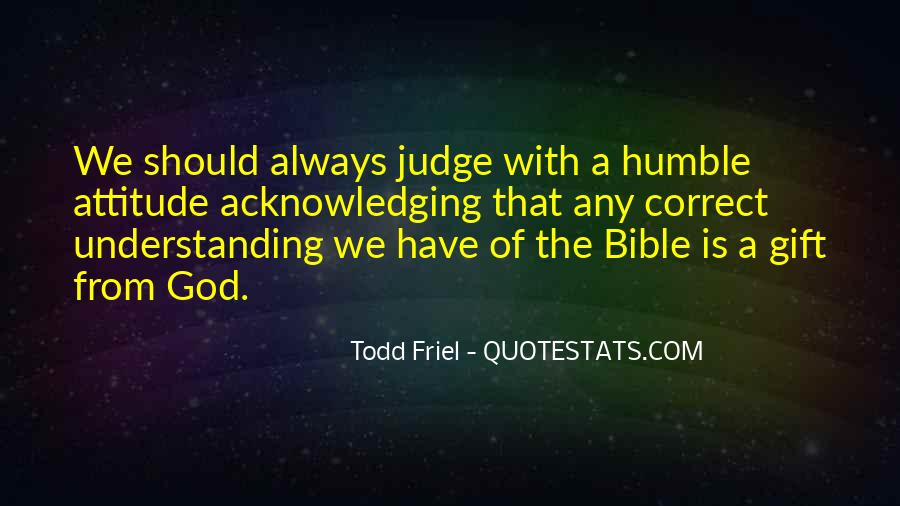 Sayings About Attitude In Bible #91751