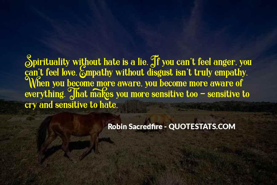 Sayings About Anger And Hate #1384850