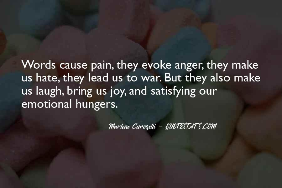Sayings About Anger And Hate #309697