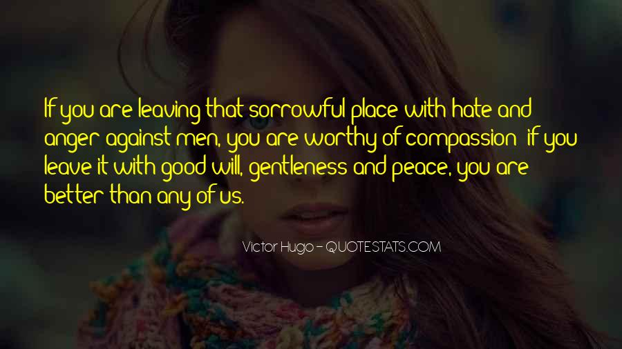 Sayings About Anger And Hate #92562