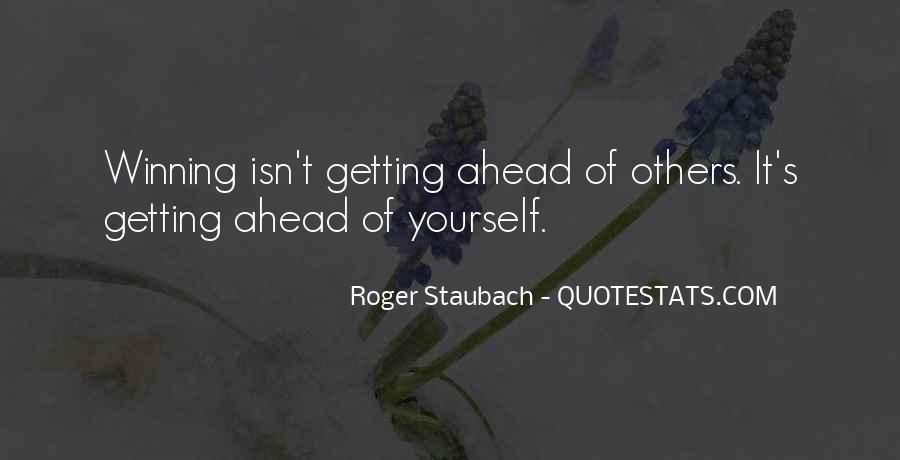 Sayings About Getting Ahead #1063830