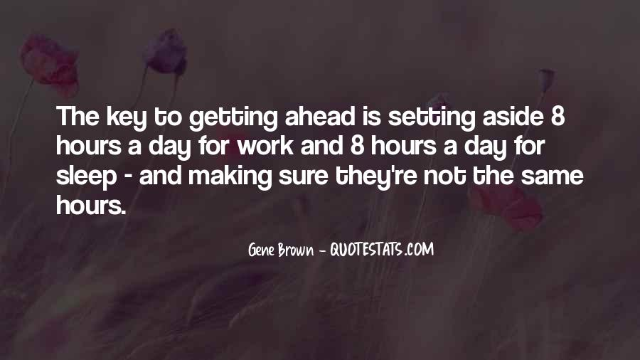 Sayings About Getting Ahead #1688822