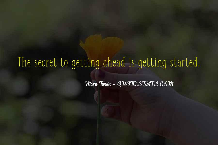 Sayings About Getting Ahead #570607