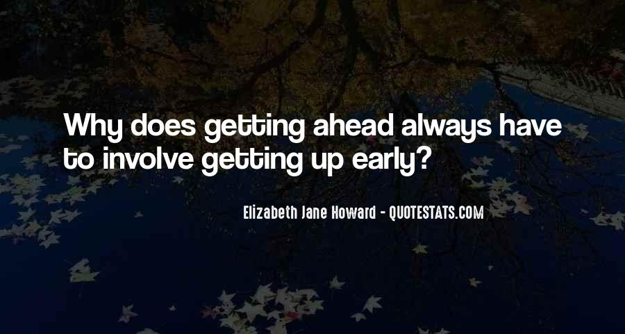 Sayings About Getting Ahead #670010