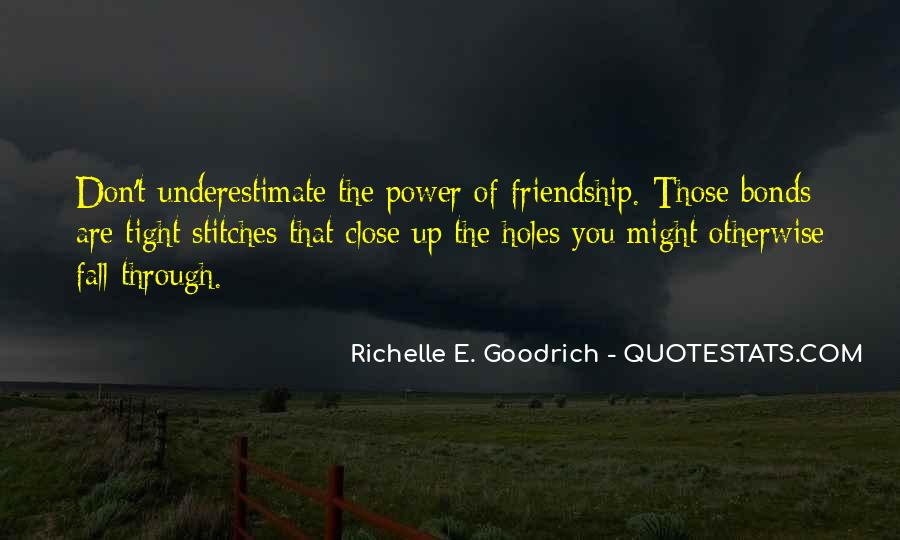 Sayings About Friendship Bonds #1679580