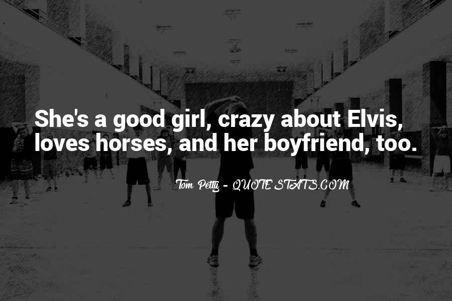 Sayings About Horses And A Girl #291283