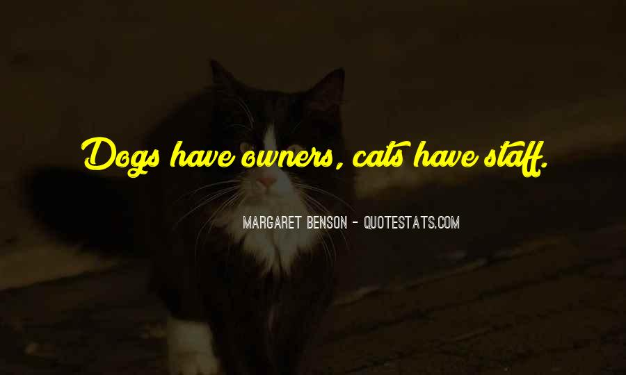 Sayings About Cats And Owners #431570