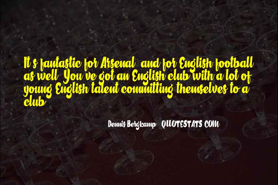 Sayings About English Club #351297