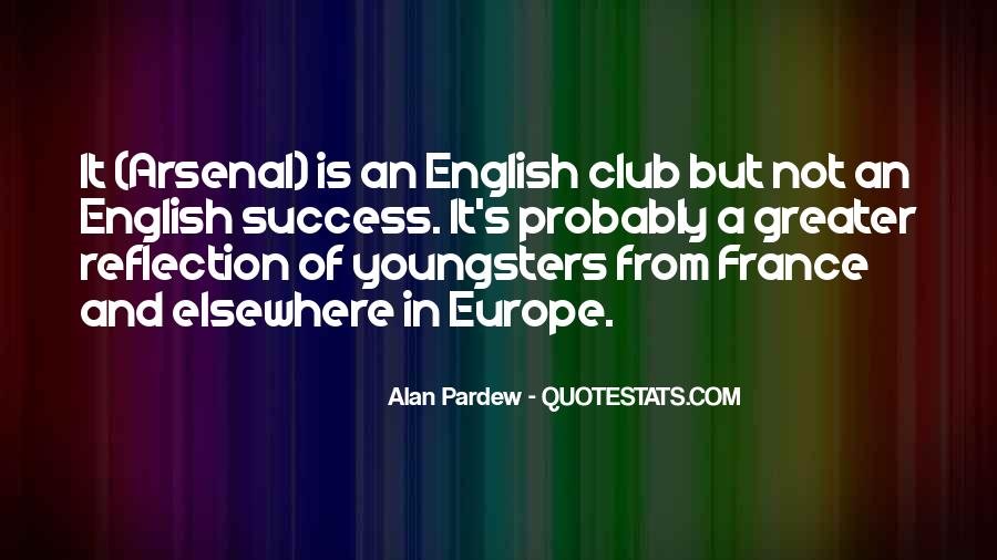 Sayings About English Club #961544