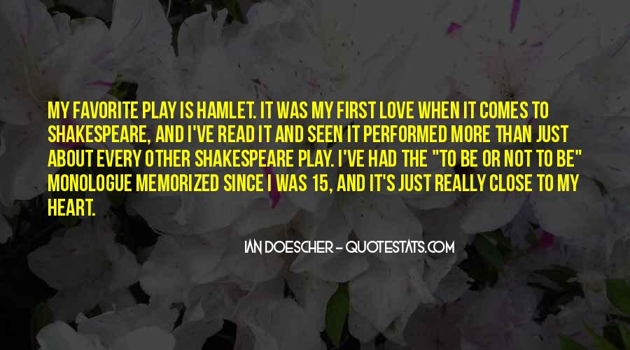 Sayings About Love Shakespeare #157689