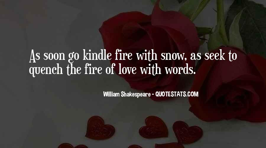Sayings About Love Shakespeare #36388