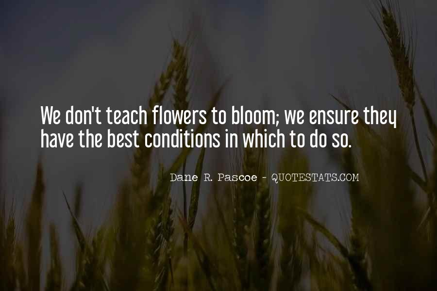 Sayings About Flowers And Learning #640401