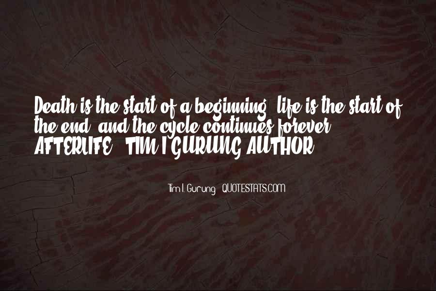 Sayings About The Cycle Of Life #1110477